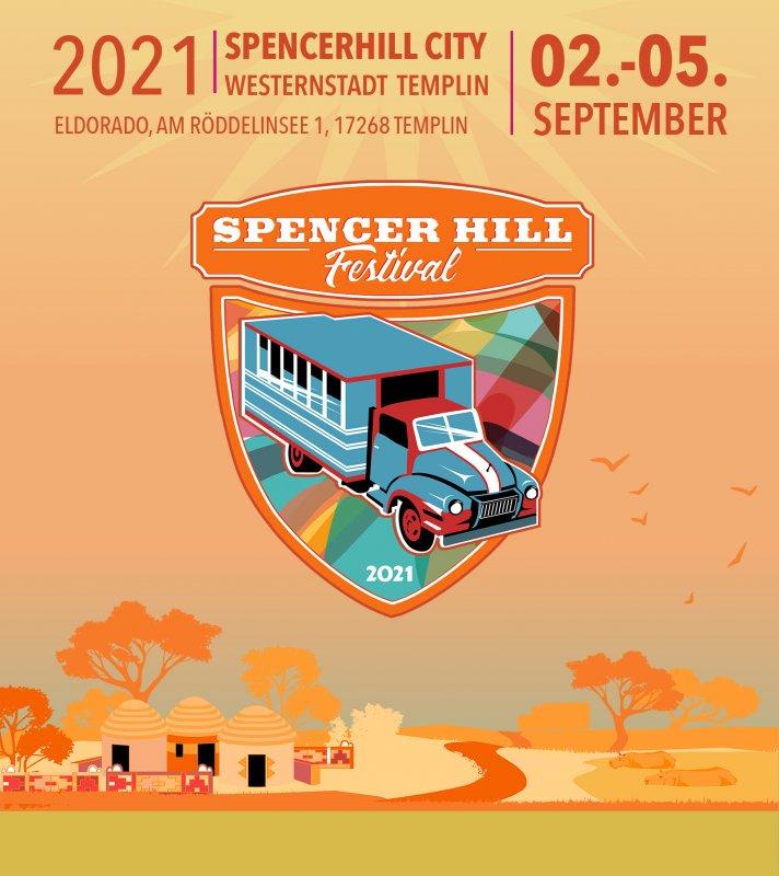 Spencerhill Festival 2021 - Wochenend Ticket 02.-05.09.