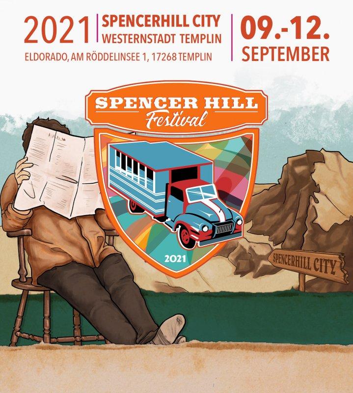 Spencerhill Festival 2021 - Wochenend Ticket 09.-12.09.