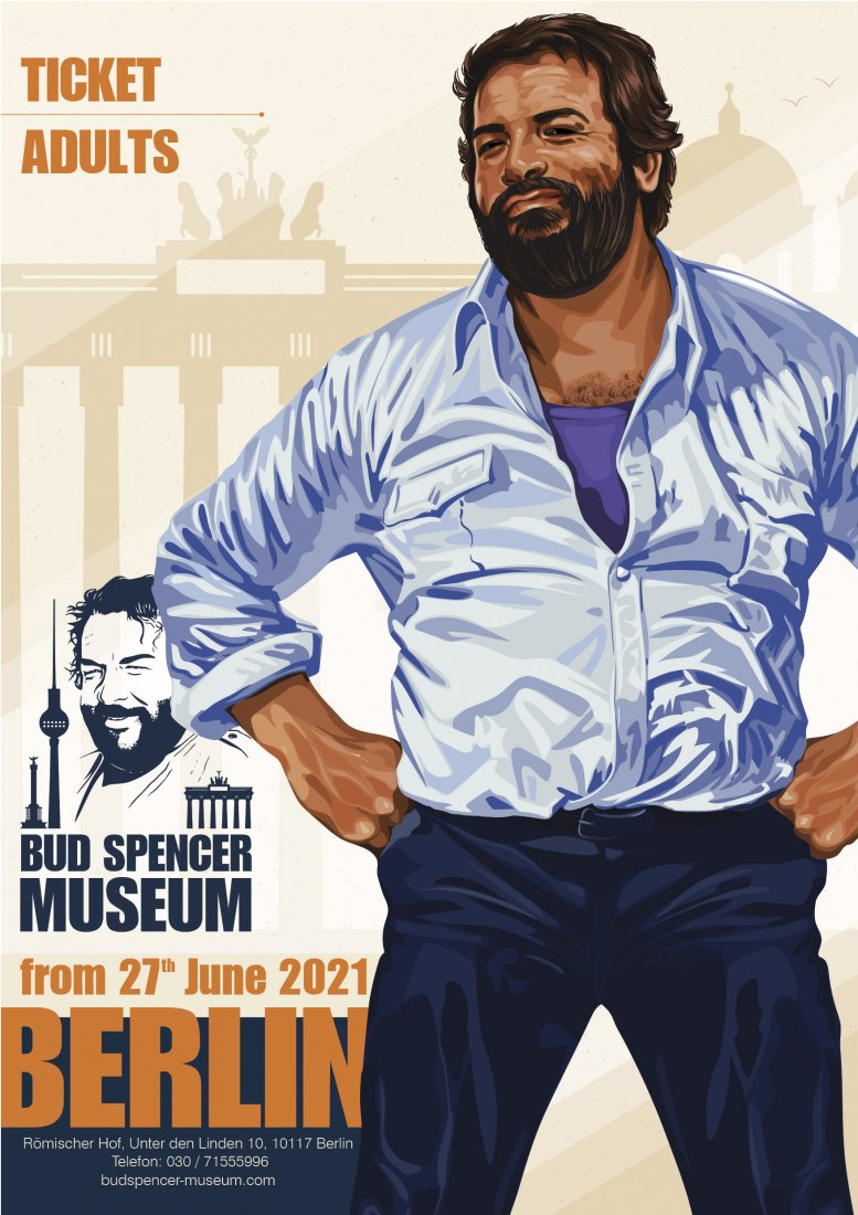 Bud Spencer Museum - Adult Ticket