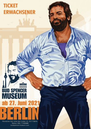 Bud Spencer in Berlin - Ticket Erwachsener
